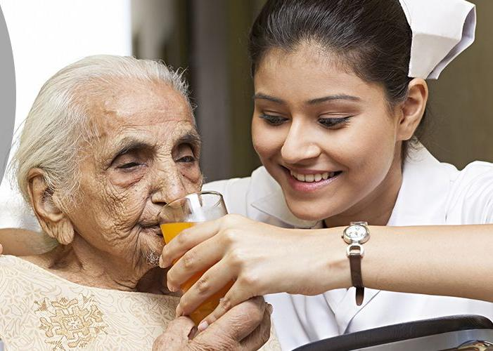 Emotional care for the elderly